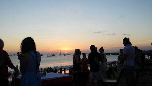 Jimbaran Beach Bali: White Sandy Beach that Hits