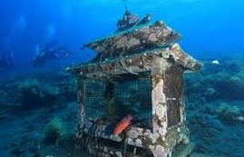 Awesome!! Artificial Coral Reefs Become a Snorkeling Spot Jemeluk Bali