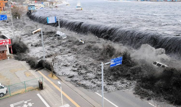 Japanese Tsunami Is Predicted If a Magnitude 9 Earthquake Occurs